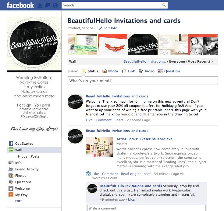 Facebook Page Love