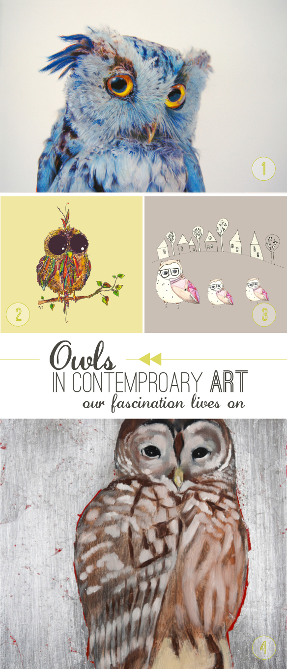 Owl Artwork Beautiful Hello Blog