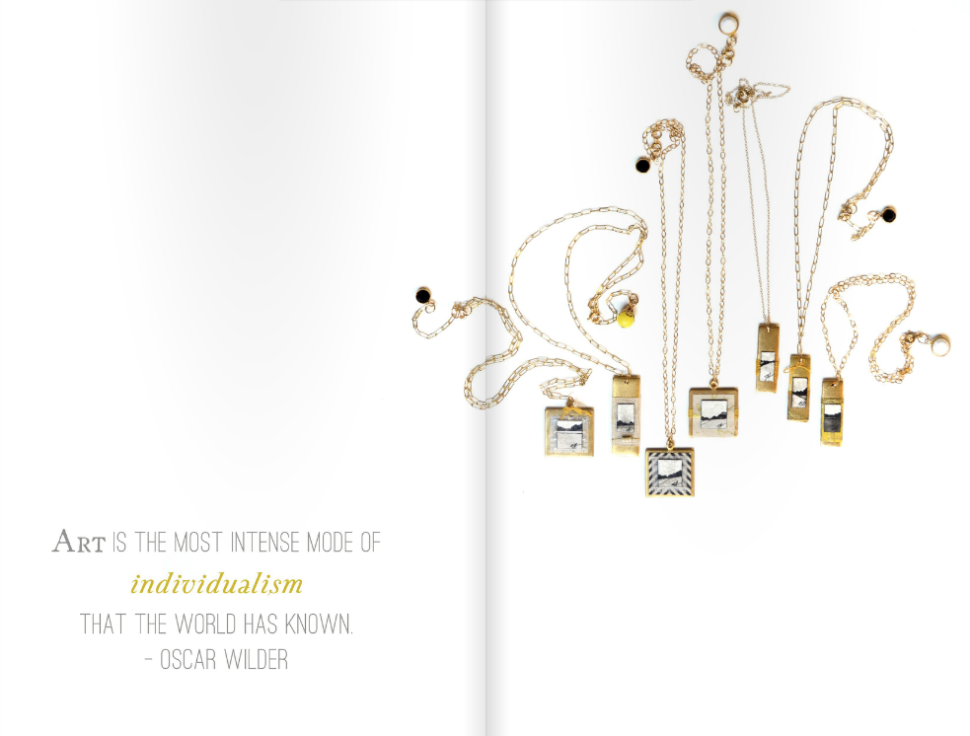 Fine Art Jewelry Collection: Lookbook from Emily Jeffords Studio