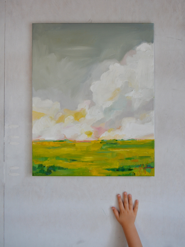 Nearing August: Original Paining by Emily Jeffords (Painting a Day)