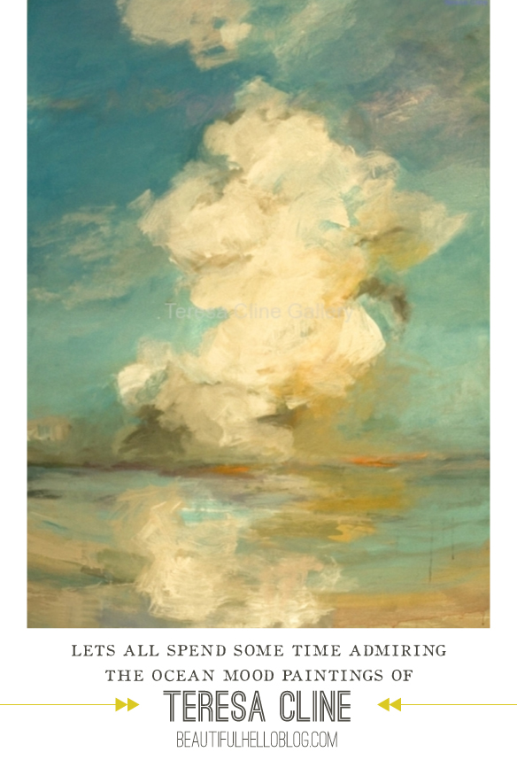 Paintings of Teresa Cline |  BeautifulHelloBlog.com