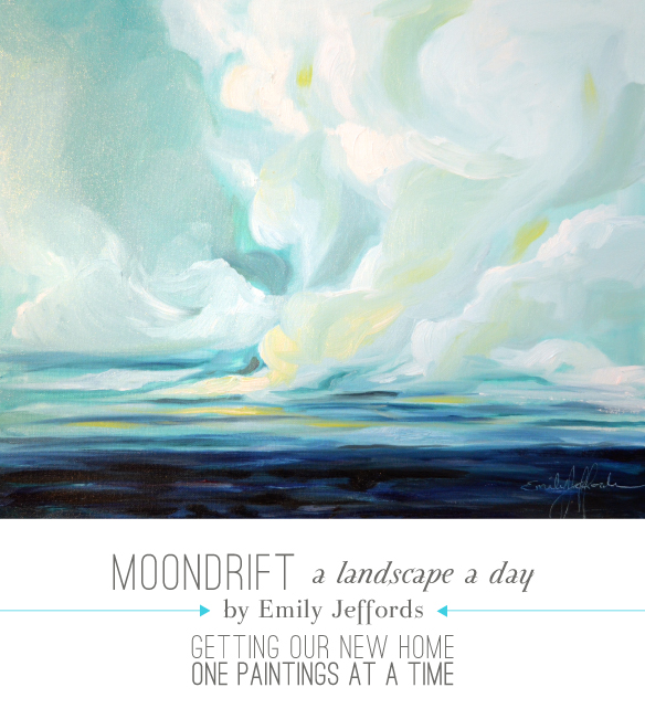 Moondrift: Landscape Painting A Day by Emily Jeffords