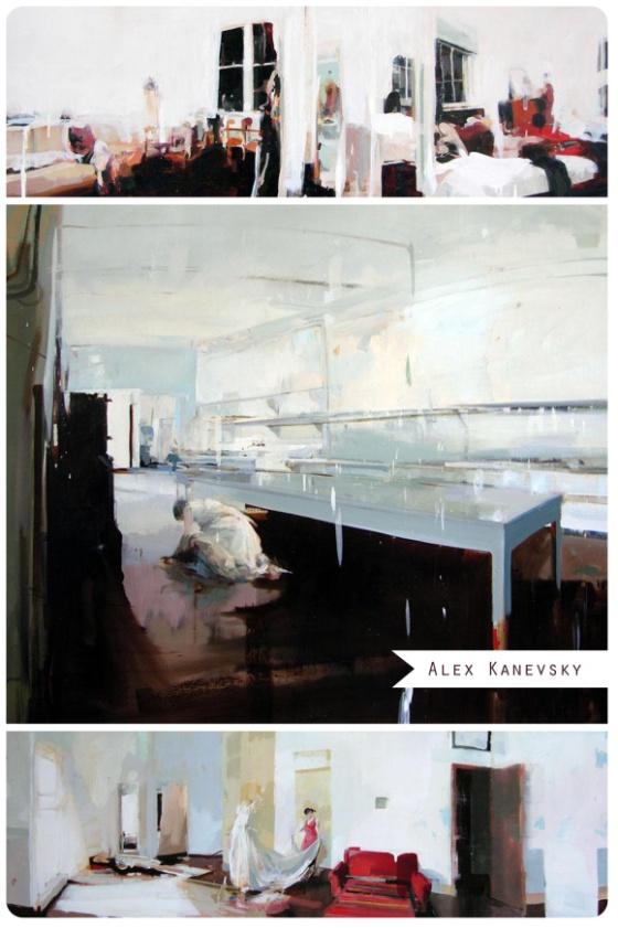 Paintings of Alex Kanevsky