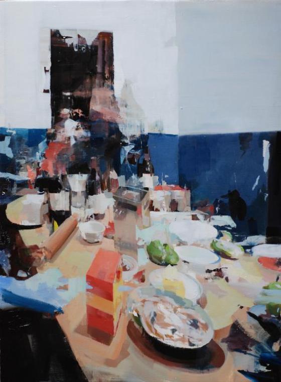 Painting by artist  Alex Kanevsky