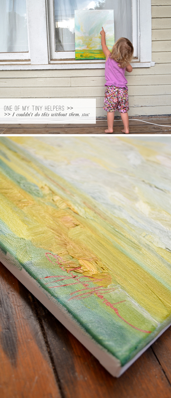 Of The Light Days: Oil Landscape Painting a Day by Emily Jeffords
