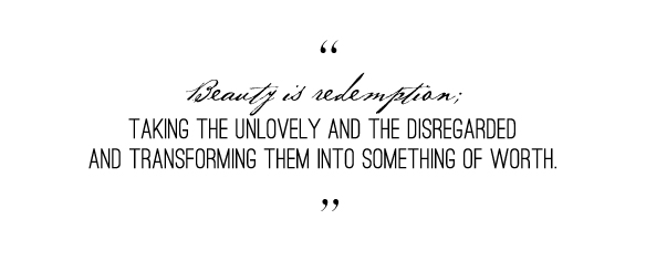 Beauty: How it will cost everything & Give back  even more.  Beautiful Hello Blog Emily Jeffords