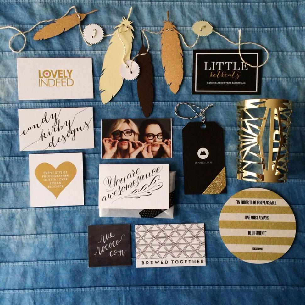 Alt Summit Recap Business Cards Beautiful Hello Blog: Emily Jeffords