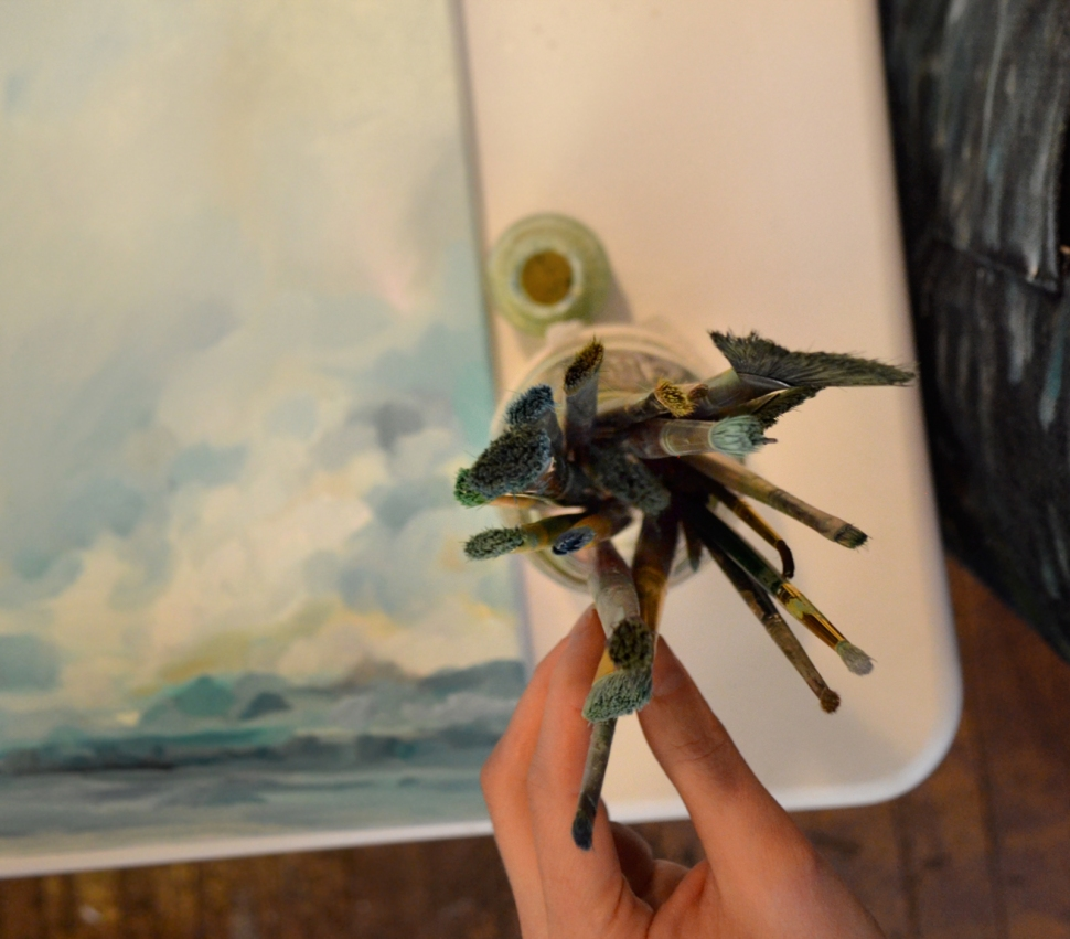 Painting Brushes, Emily Jeffords
