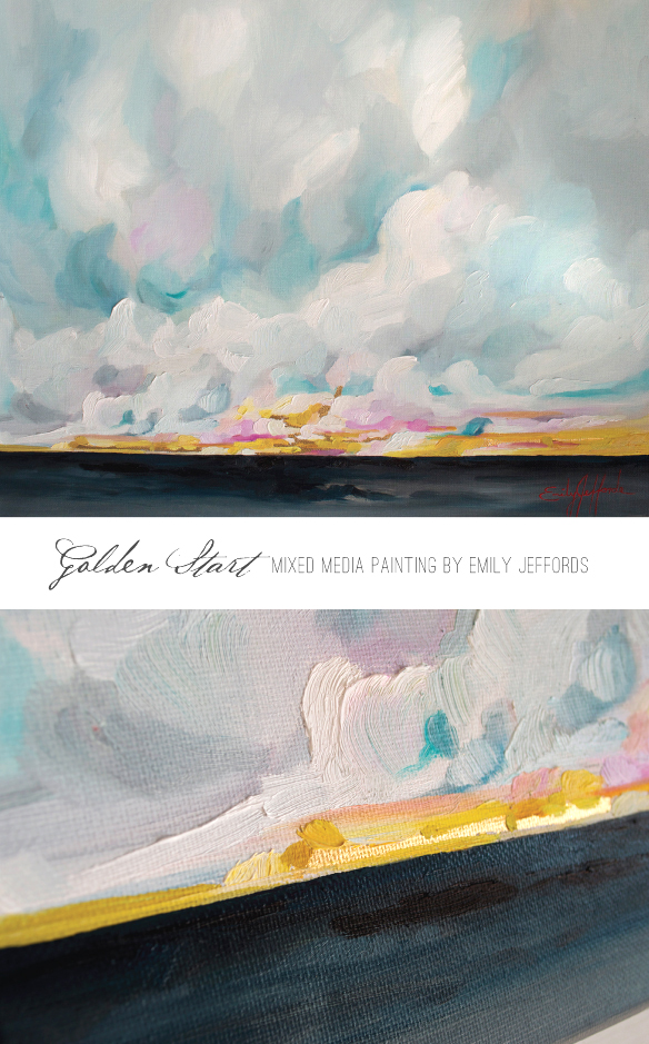 Golden Start by Emily Jeffords, Beautiful Hello Blog