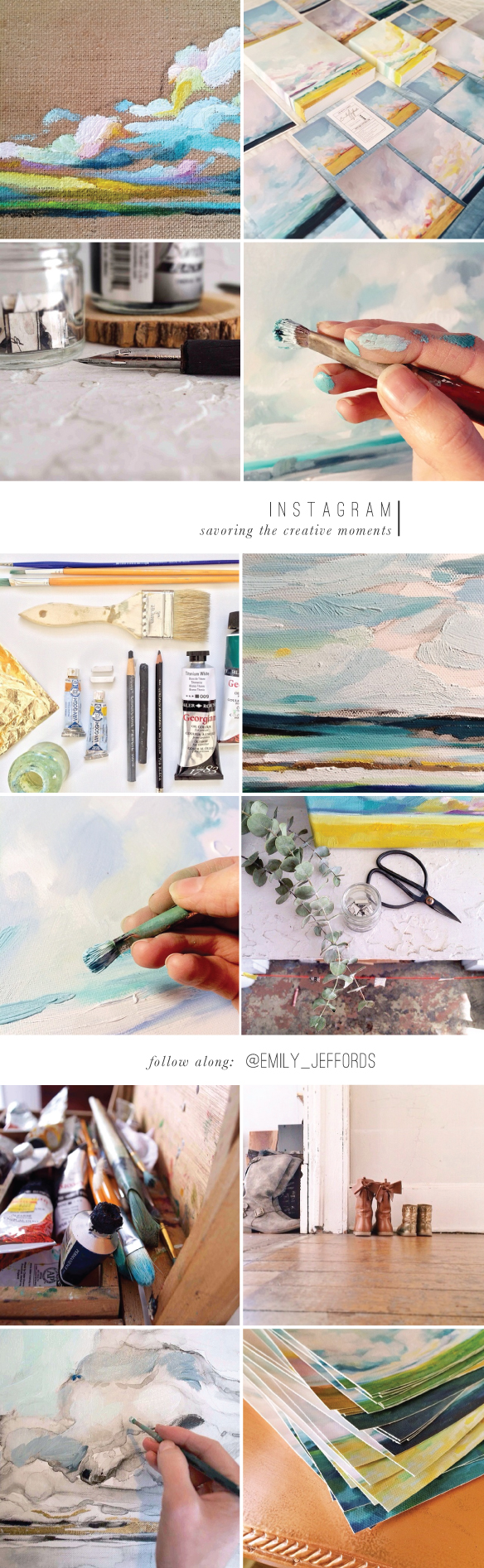 Instgram for Artists: Beautiful Hello Blog