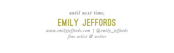 Emily Jeffords, Beautiful Hello Blog signature