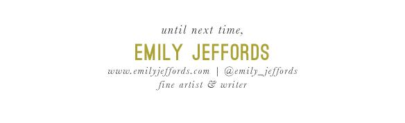 Emily Jeffords, Beautiful Hello Blog signature