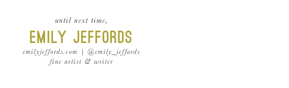 Emily Jeffords Signature: Beautiful Hello Blog