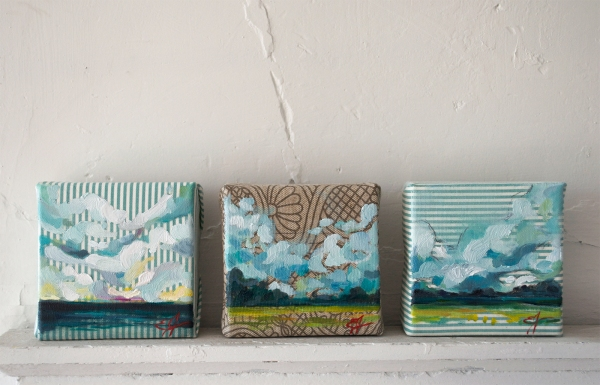 Small Oil Landscape Paintings by Emily Jeffords