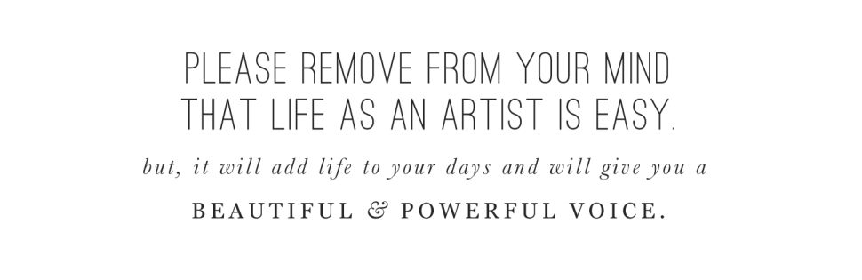 Life as an artist: BeautifulHelloBlog.com