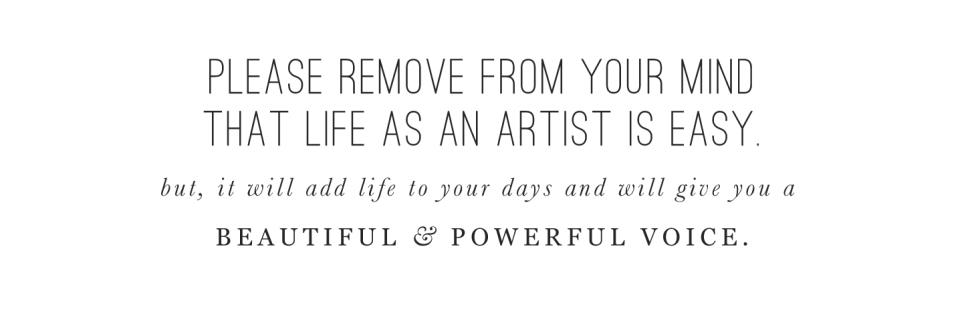 Life as an artist: BeautifulHelloBlog.com
