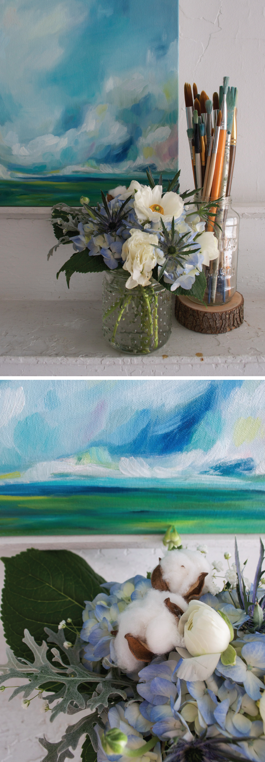 Art & Nature: Emily Jeffords, Beautiful Hello Blog