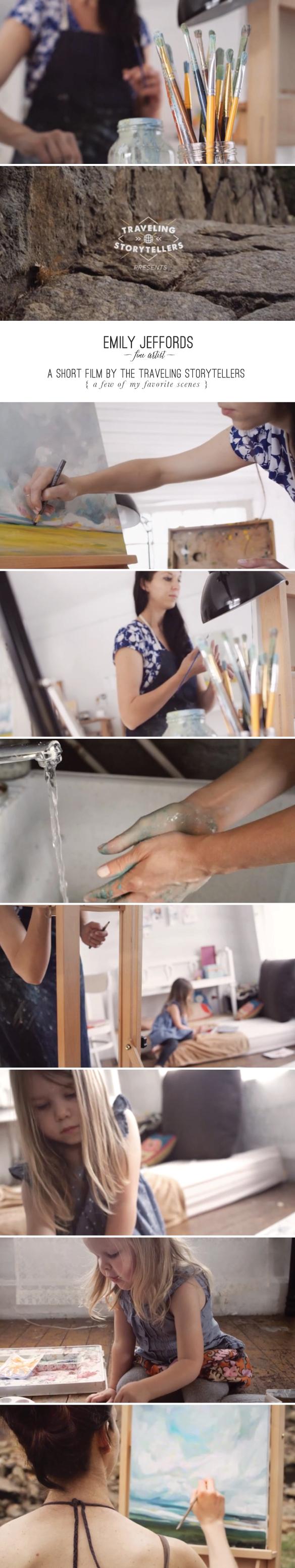 Emily Jeffords Studio: a Short Film by the Traveling Storytellers