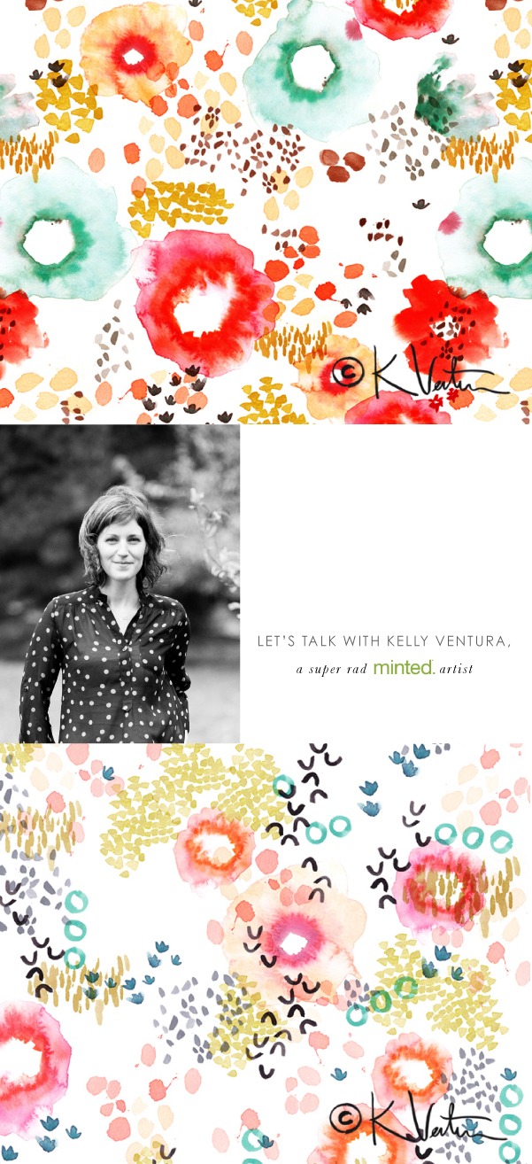 A Day-in-the-Life of Artist Kelly Ventura on Beautiful Hello Blog