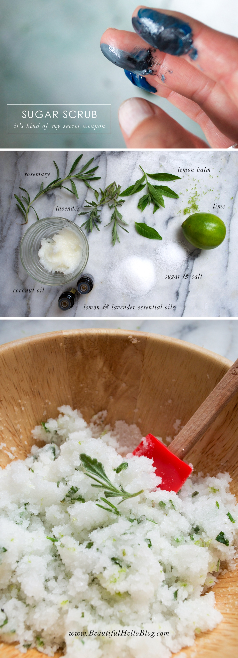 Sugar scrub DIY: an artists best kept secret | Beautiful Hello Blog