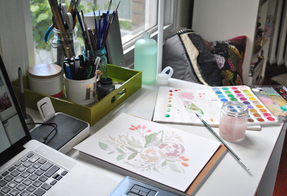 Interview with Illustrator and designer Alethea and Ruth, Beautiful Hello Blog