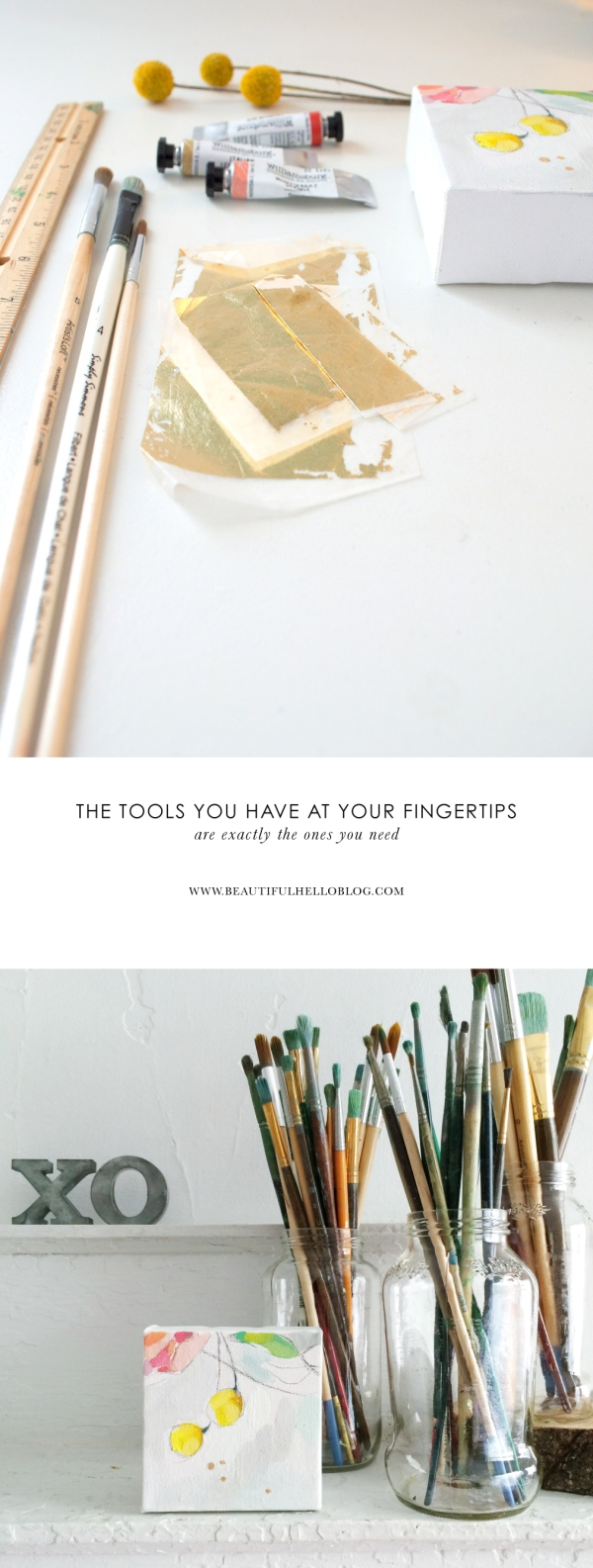 Art Supplies (the 10 things I can't live without and the 10,000 I can)  Emily Jeffords, Beautiful Hello Blog