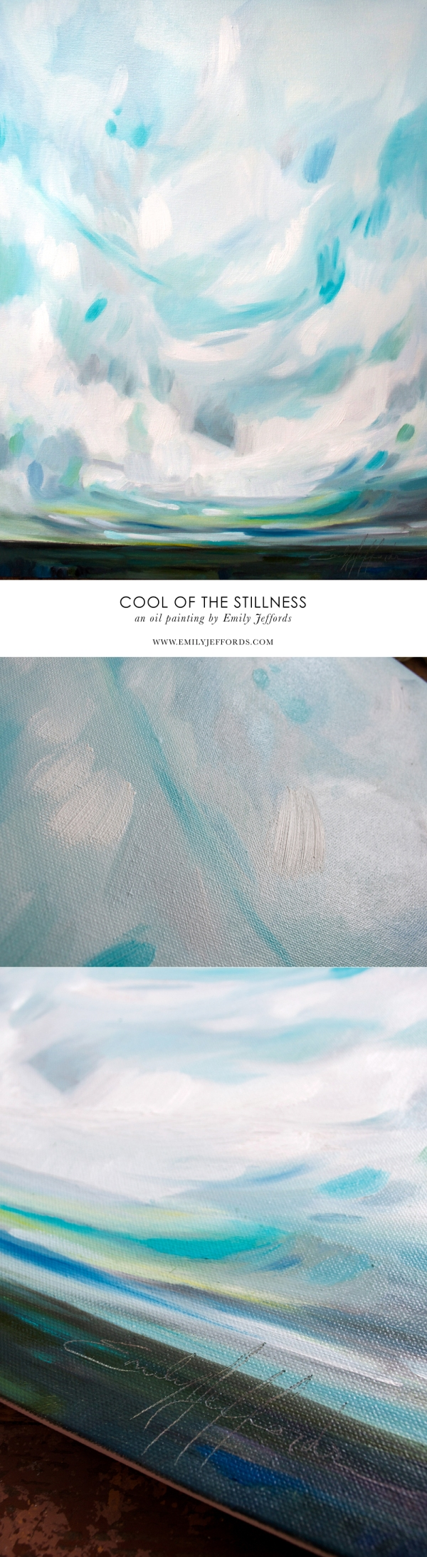 """Cool of the Stillness"" oil painting by Emily Jeffords"