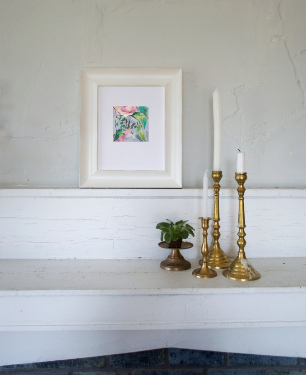 Botanical Fine Art Painting by Emily Jeffords