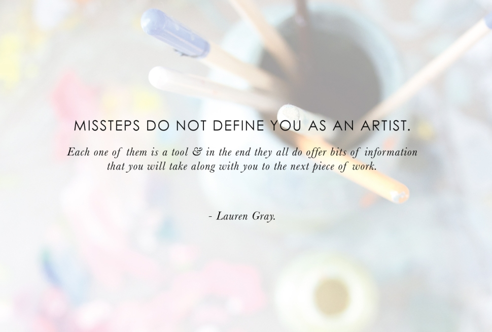 Artist-to-Artist: advice for new creatives from Lauren Gray