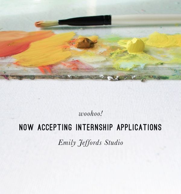 Emily Jeffords Studio Internship