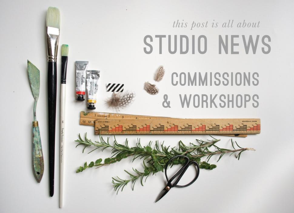 Emily Jeffords studio news