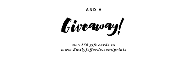 Fine Art Giveaway Emily Jeffords Studio