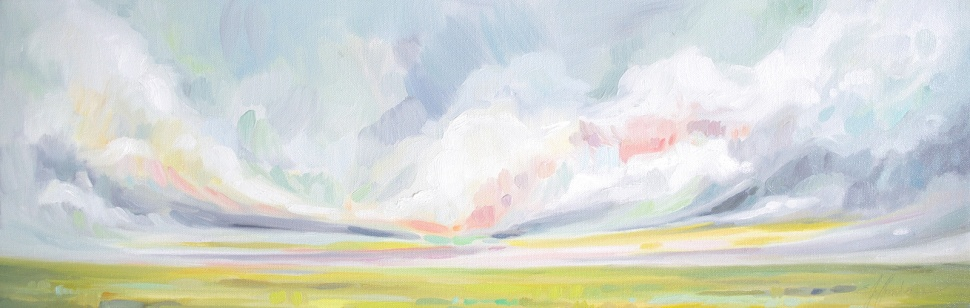 "Fine Art Prints Emily Jeffords Studio ""New Horizons"""